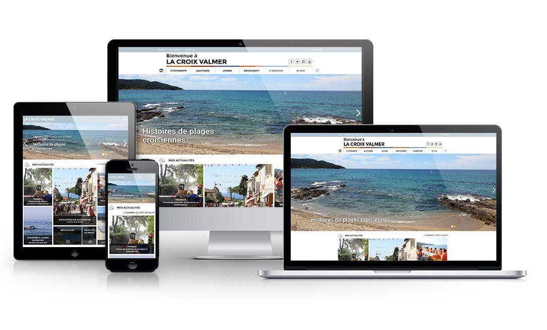 Site internet ville de la Croix Valmer